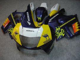 Honda CBR600 F3 1995-1996 Injection ABS Verkleidung - Camel - Blau/Gelb