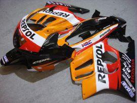 Honda CBR600 F3 1995-1996 Injection ABS Verkleidung - Repsol - Orange/Schwarz/Rot