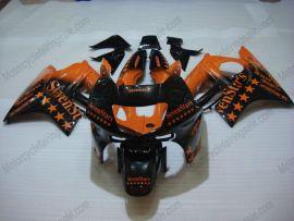 Honda CBR600 F3 1995-1996 Injection ABS verkleidung - SevenStars - Orange/Schwarz