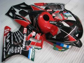 Honda CBR600 F3 1997-1998 Injection ABS Verkleidung - Jomo - Schwarz/Rot