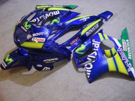 Honda CBR600 F3 1997-1998 Injection ABS Verkleidung - Movistar - Blau