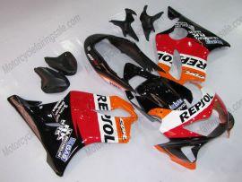 Honda CBR600 F4 1999-2000 Injection ABS verkleidung - Repsol - Orange/Schwarz/Rot