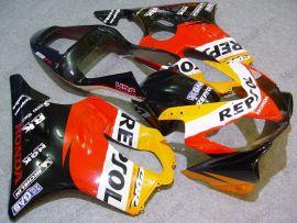 Honda CBR600 F4i 2001-2003 Injection ABS verkleidung - Repsol - Rot/Schwarz/Gelb