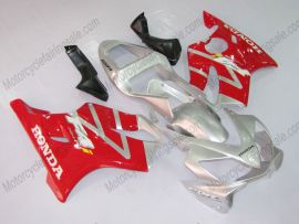 Honda CBR600 F4i 2001-2003 Injection ABS verkleidung - Factory Style - Rot/Silber