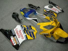 Honda CBR600 F4i 2001-2003 Injection ABS verkleidung - Nastro Azzurro - Gelb/Blau/Weiß