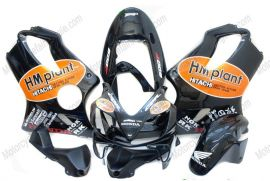 Honda CBR600 F4i 2004-2007 Injection ABS Verkleidung - HM plant - Schwarz/Orange