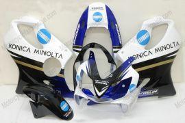 Honda CBR600 F4i 2004-2007 Injection ABS verkleidung - Konica Minolta - Weiß/Schwarz/Blau