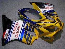 Honda CBR600 F4i 2004-2007 Injection ABS Verkleidung - Nastro Azzurro - Gelb/Weiß/Blau