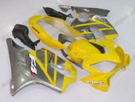 Honda CBR600 F4i 2001-2003 Injection ABS verkleidung - Factory Style - Gelb/Grau