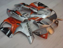 Honda CBR900RR 893 1996-1997 ABS verkleidung - Fireblade - Silber/Orange