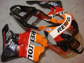 Honda CBR900RR 893 1996-1997 ABS verkleidung - Repsol - Orange/Rot/Schwarz