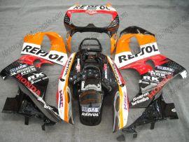 Honda CBR900RR 893 1996-1997 ABS verkleidung - Repsol - Orange/Schwarz