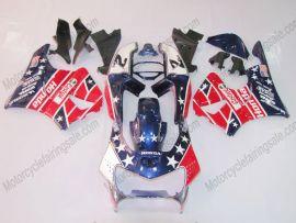 Honda CBR900RR 919 1998-1999 ABS verkleidung - Castrol - Blau/Rot