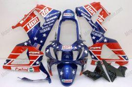 Honda CBR900RR 929 2000-2001 ABS verkleidung - Castrol - Blau/Rot