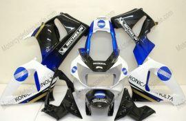 Honda CBR900RR 929 2000-2001 ABS verkleidung - Konica Minolta - Weiß/Schwarz/Blau