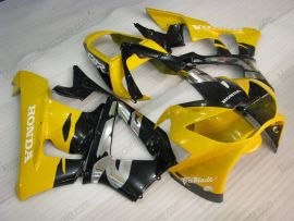 Honda CBR900RR 929 2000-2001 ABS verkleidung - Fireblade - Gelb/Grau