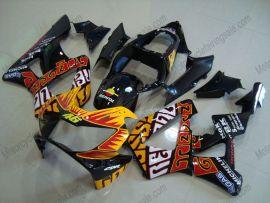 Honda CBR900RR 929 2000-2001 ABS verkleidung - Rossi - Orange/Schwarz