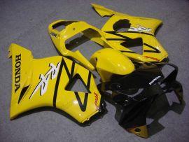 Honda CBR900RR 954 2002-2003 Injection ABS verkleidung - Fireblade - Gelb/Schwarz