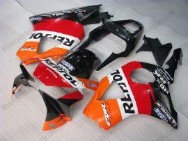 Honda CBR900RR 954 2002-2003 Injection ABS verkleidung - Repsol - Orange/Schwarz/Rot