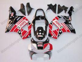 Honda CBR900RR 954 2002-2003 Injection ABS verkleidung - Castrol - Schwarz/Rot