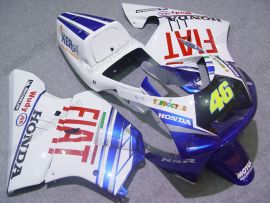 Honda NSR250 MC21 P3 Injection ABS verkleidung - FIAT - Weiß/Blau
