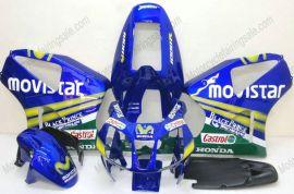 Honda VTR1000 RC51 2000-2006 ABS verkleidung - Movistar - Blau