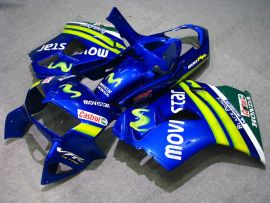Honda VFR800 1998-2001 ABS verkleidung - Movistar - Blau