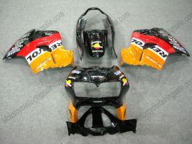 Honda VFR800 1998-2001 ABS verkleidung - Repsol - Orange/Schwarz/Rot