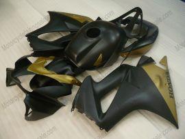 Honda VFR800 2002-2009 Injection ABS verkleidung - Factory Style - Schwarz/Golden