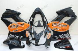 Honda VFR800 2002-2013 Injection ABS verkleidung - HM plant - Schwarz