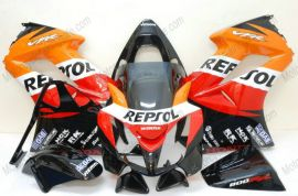 Honda VFR800 2002-2013 Injection ABS verkleidung - Repsol - Orange/Rot/Schwarz