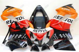 Honda VFR800 2002-2013 Injection ABS verkleidung - Repsol - Orange/Schwarz/Rot