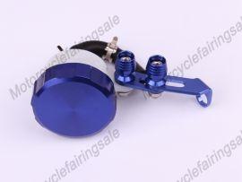 Öltank universal Bremskupplungsflüssigkeitsbehälter Blau