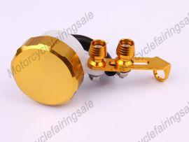 Öltank universal Bremskupplungsflüssigkeitsbehälter Gelb