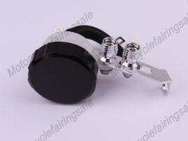Öltank universal Bremskupplungsflüssigkeitsbehälter Schwarz