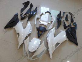 Kawasaki NINJA ZX6R 2013-2015 Injection ABS verkleidung - Factory Style - weiß/schwarz