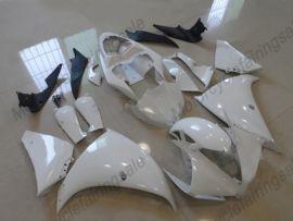 Yamaha YZF-R1 2012-2014 Injection ABS verkleidung - Factory Style - weiß/schwarz