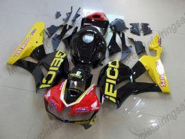 Honda CBR 600RR F5 2013-2019 Injection ABS verkleidung - Factory Style - gelb/schwarz/rot