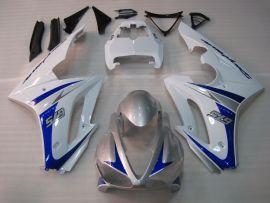 Triumph Daytona 675 2009-2012 Injection  ABS Fairing - Other - White/Blue