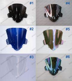 6 x Farbe Suzuki GSX-R 1000 2005-2006 K5 Windschutzscheibe / windschild