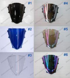 6 x Farbe Suzuki GSX-R 1000 2009-2010 K9 Windschutzscheibe / windschild