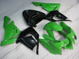 Kawasaki NINJA ZX10R 2003-2005 Injection ABS verkleidung - Factory Style - Grün/Schwarz