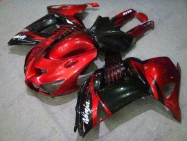Kawasaki NINJA ZX14R 2006-2011 Injection ABS verkleidung - anderen - Rot/Schwarz