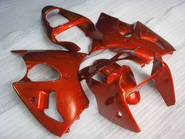 Kawasaki NINJA ZX6R 2000-2002 Injection ABS verkleidung - Factory Style - alle Orange
