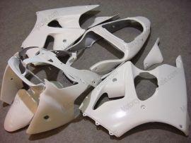 Kawasaki NINJA ZX6R 2000-2002 Injection ABS verkleidung - Factory Style - alle Weiß