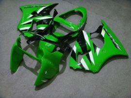 Kawasaki NINJA ZX6R 2000-2002 Injection ABS verkleidung - anderen - Grün/Schwarz