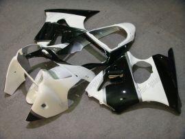 Kawasaki NINJA ZX6R 2000-2002 Injection Injection ABS verkleidung - anderen - Weiß/Schwarz