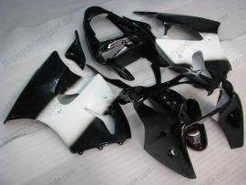 Kawasaki NINJA ZX6R 2000-2002 ABS Injection verkleidung - anderen - Weiß/Schwarz