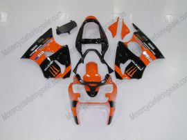 Kawasaki NINJA ZX6R 2000-2002 Injection ABS verkleidung - Monster - Orange/Schwarz