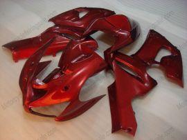 Kawasaki NINJA ZX6R 2005-2006 Injection ABS verkleidung - Factory Style - alle Rot